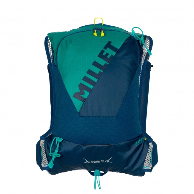 Backpack - trail running - navy-blue INTENSE 15 Millet 2