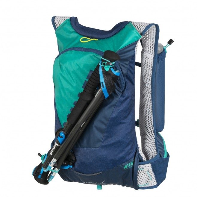 Backpack - trail running - navy-blue INTENSE 15 Millet 3