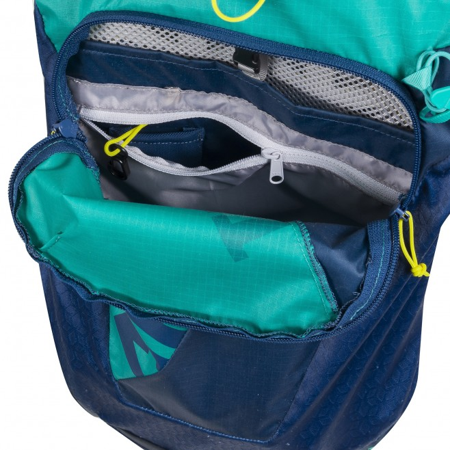 Backpack - trail running - navy-blue INTENSE 15 Millet 4