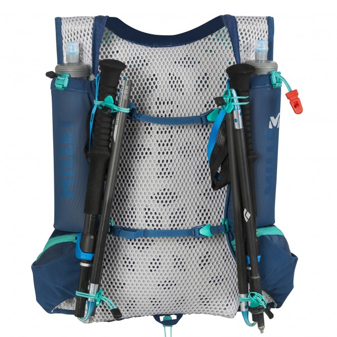 Backpack - trail running - navy-blue INTENSE 15 Millet 5