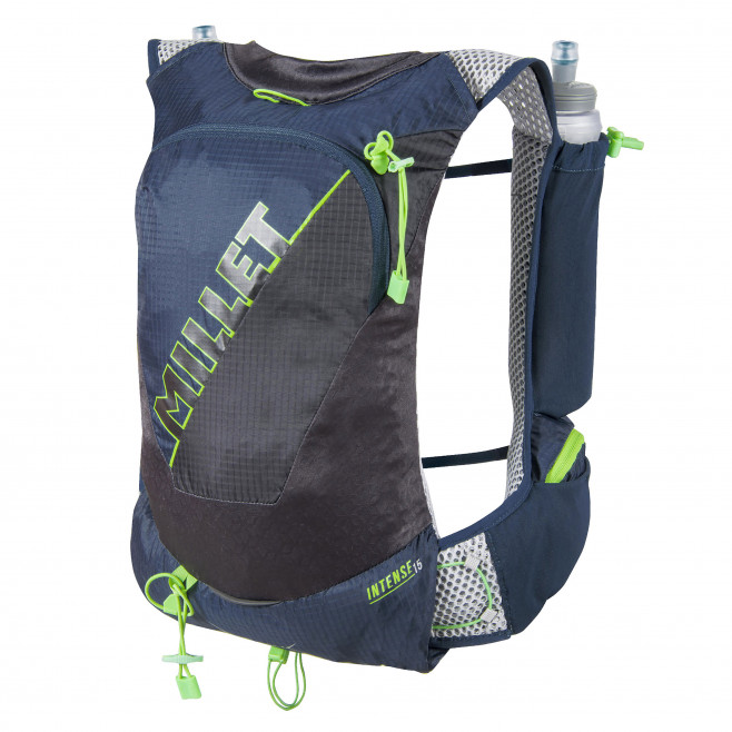 Backpack - trail running - navy-blue INTENSE 15 Millet