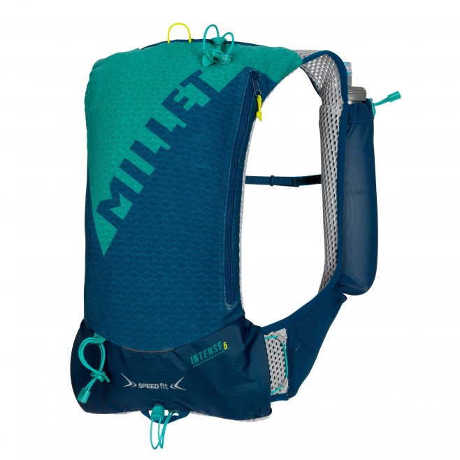 Backpack - trail running - navy-blue INTENSE 5 Millet