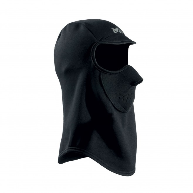 balaclava - black POWER STRETCH FACE MASK  Millet