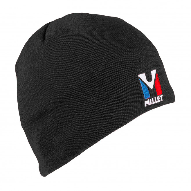 Men's beanie - black ACTIVE WOOL BEANIE Millet