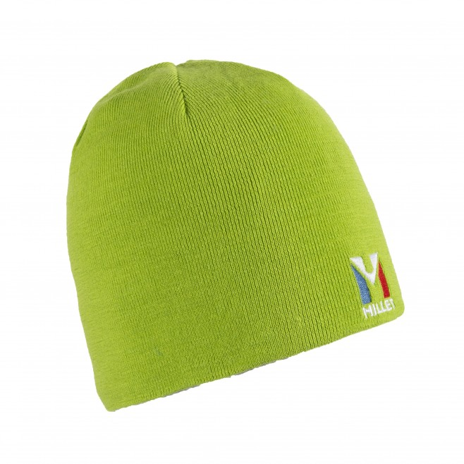 Men's beanie - mountaineering - green ACTIVE WOOL BEANIE Millet