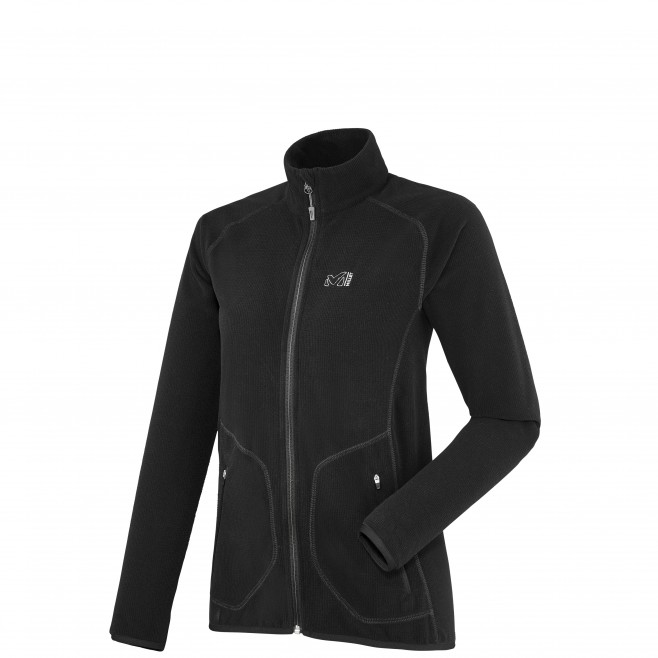 Trekking - Women's fleece jacket - Black LD KODA GRID JKT Millet