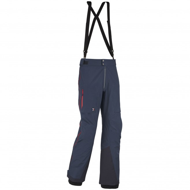 men's blue mountaineering pant TRILOGY GTX PRO PANT Millet
