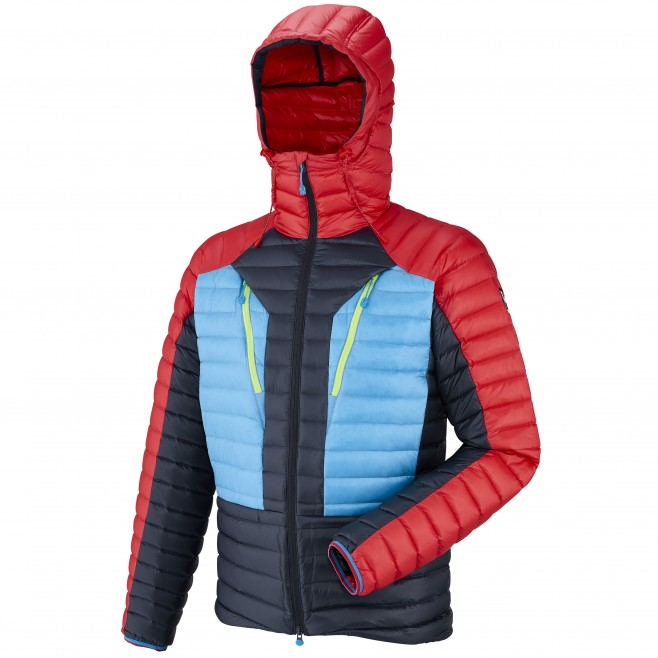Mountaineering - Men's down jacket - Black TRILOGY SYNTH'X DOWN HOODIE Millet