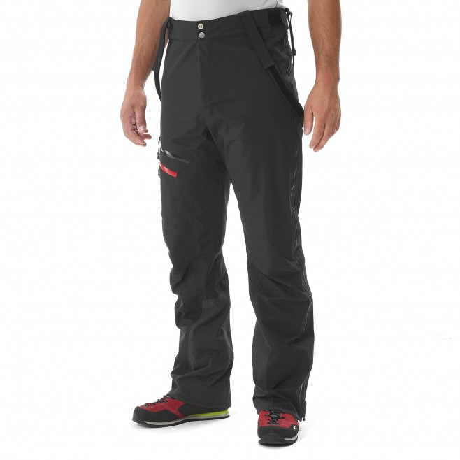 men's black mountaineering pant K EXPERT GTX PANT Millet 9
