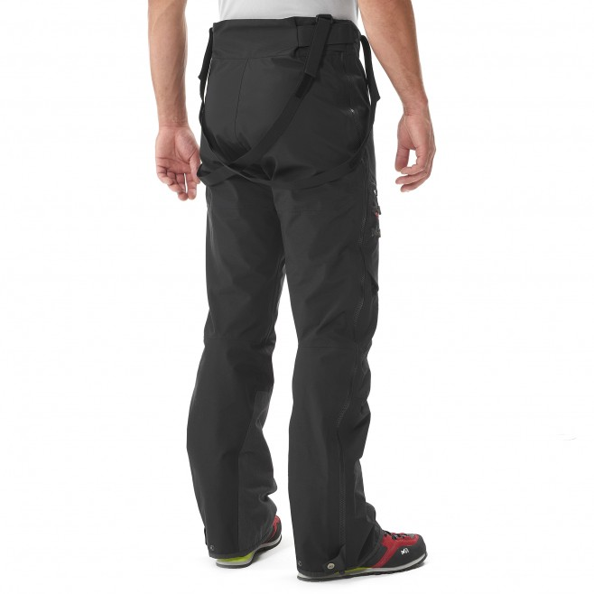 men's black mountaineering pant K EXPERT GTX PANT Millet 2