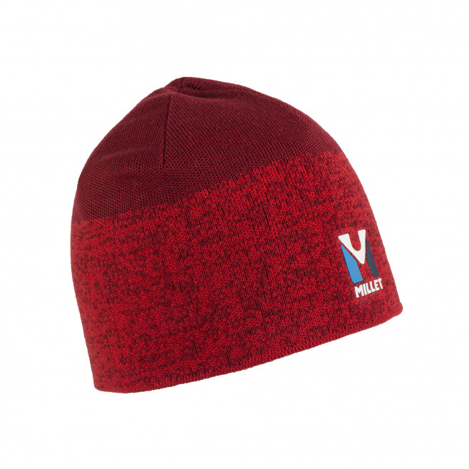Men's beanie - red TRILOGY WOOL BEANIE Millet