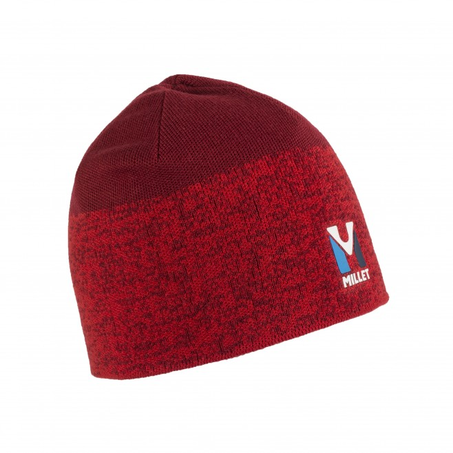 Men s beanie - mountaineering - red TRILOGY WOOL BEANIE Millet ... 4308cf9f451