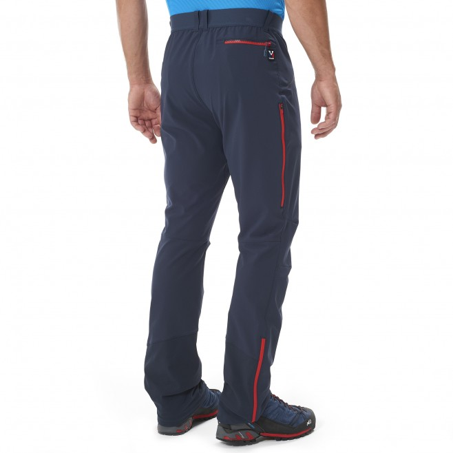 Mountaineering - Men's Pant - Red TRILOGY ADVANCED PANT Millet 3