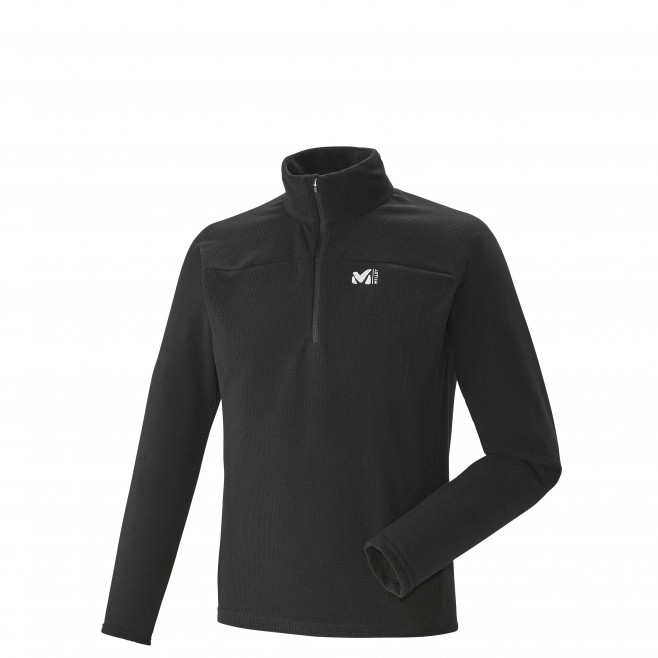 Trekking - Men's Fleece jacket - Black VECTOR GRID PO Millet