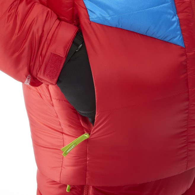 Men's down jacket - expedition - red MXP TRILOGY DOWN JKT Millet 3