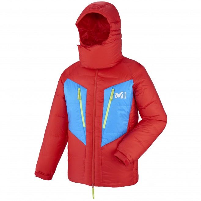 Men's jacket - expedition - red MXP TRILOGY DOWN JKT Millet