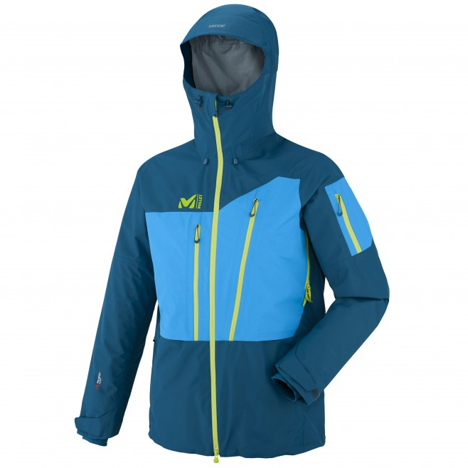 Ski touring - Men's jacket - Navy Blue M WHITE NEO 3L JKT Millet