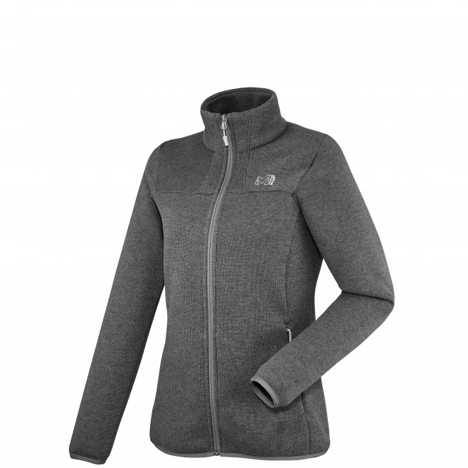 Trekking - Women's fleece jacket - Grey LD WILDER JKT Millet