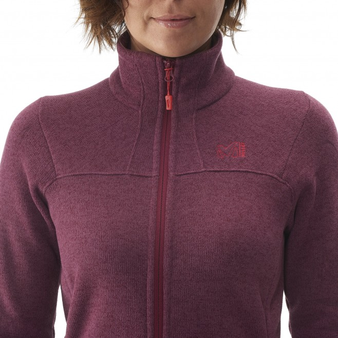 Trekking - Women's fleece jacket - Grey LD WILDER JKT Millet 6