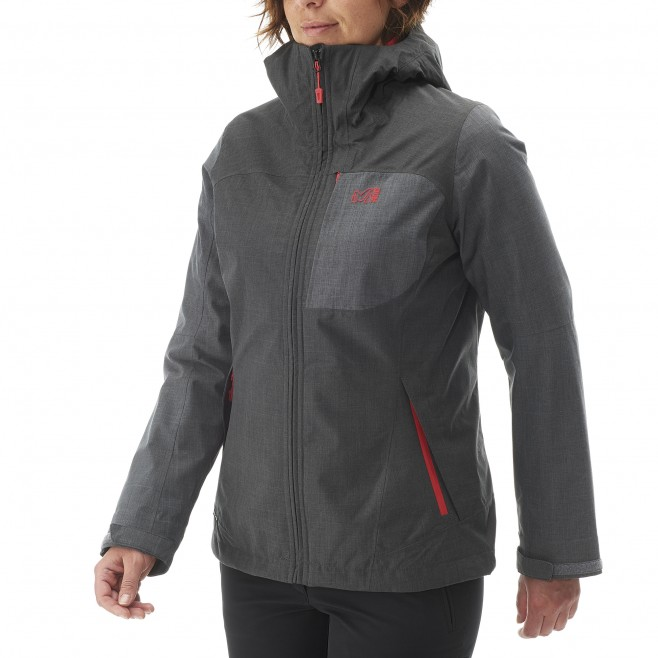Trekking - Women's jacket - Black LD PUMARI 3 IN 1 JKT Millet 11