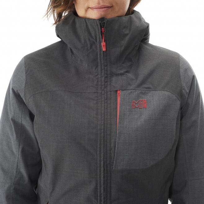 Trekking - Women's jacket - Black LD PUMARI 3 IN 1 JKT Millet 2