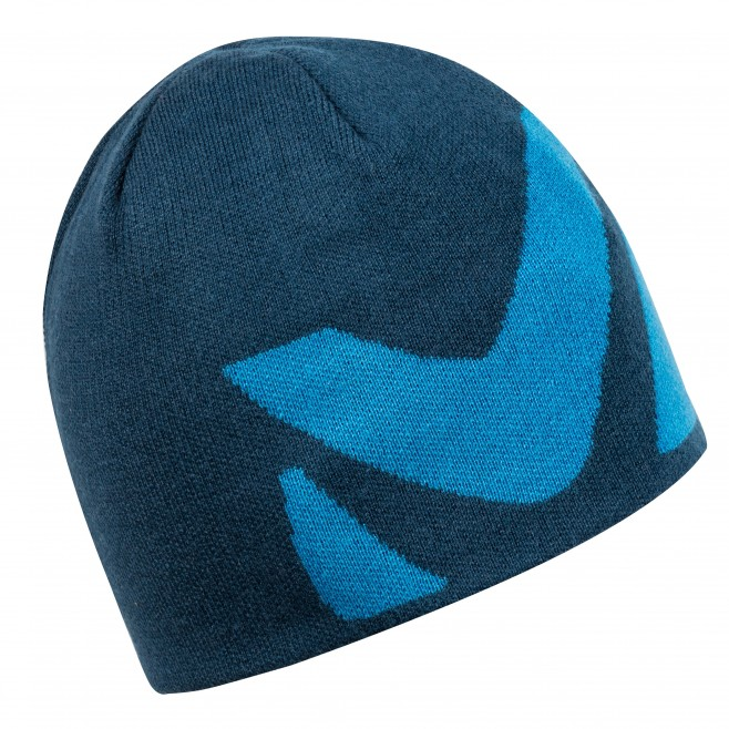 Men's beanie - hiking - navy-blue LOGO BEANIE Millet