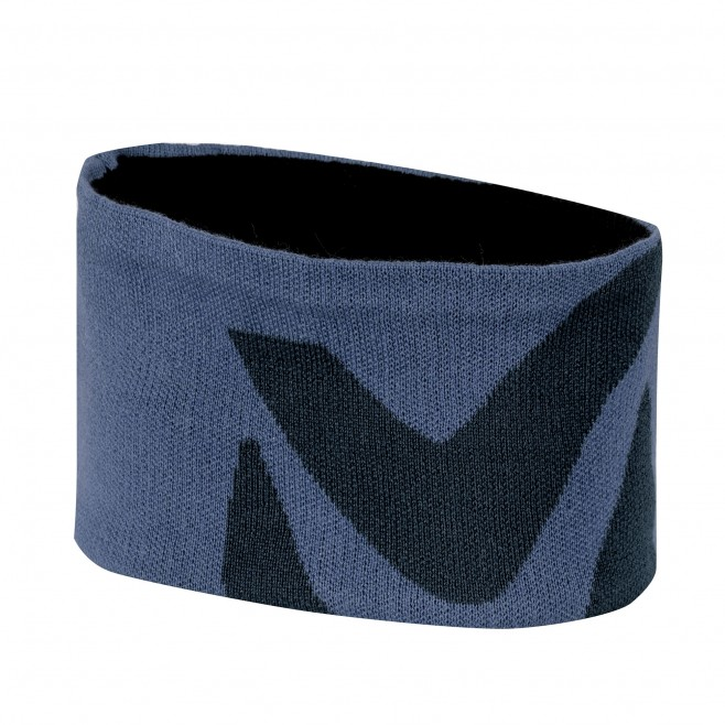 Men's headband - hiking - blue LOGO HEADBAND Millet