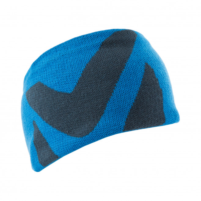 Men's headband - blue LOGO HEADBAND Millet