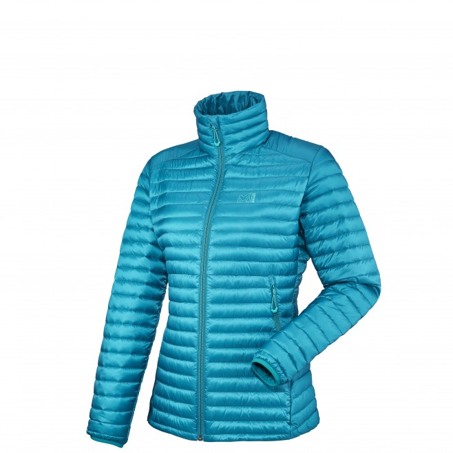 Mountaineering - Women's down jacket - Blue LD HEEL LIFT K DOWN JKT Millet