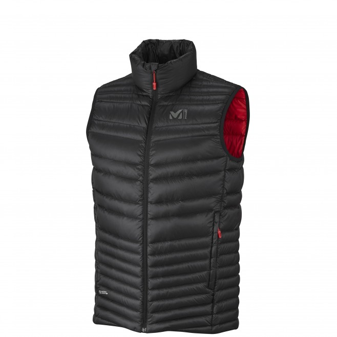 Mountaineering - Men's down jacket - Black HEEL LIFT K DOWN VEST Millet