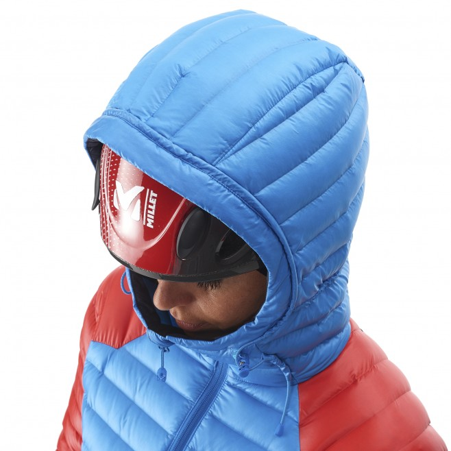 Mountaineering - Women's down jacket - Blue LD TRILOGY DUAL SYNTH'X DOWN HOODIE Millet 12