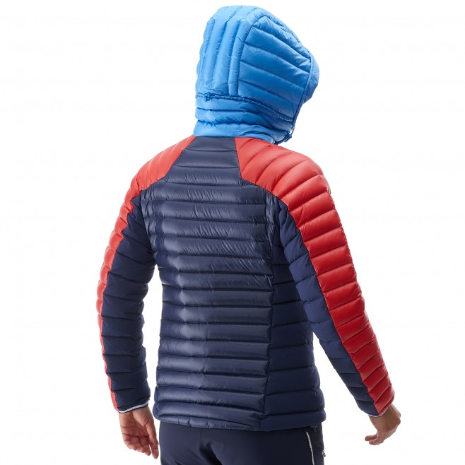 Mountaineering - Women's down jacket - Blue LD TRILOGY DUAL SYNTH'X DOWN HOODIE Millet 4