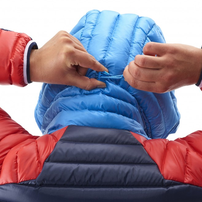 Mountaineering - Women's down jacket - Blue LD TRILOGY DUAL SYNTH'X DOWN HOODIE Millet 5
