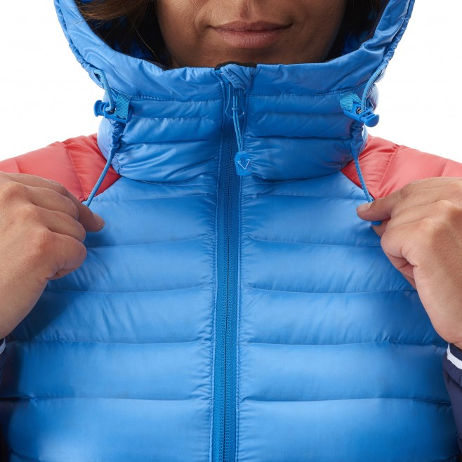 Mountaineering - Women's down jacket - Blue LD TRILOGY DUAL SYNTH'X DOWN HOODIE Millet 6