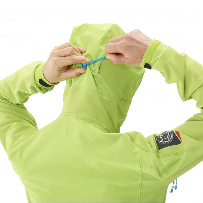Mountaineering - Women's jacket - Green LD CHAMONIX NEEDLES WDS HOODIE Millet 4