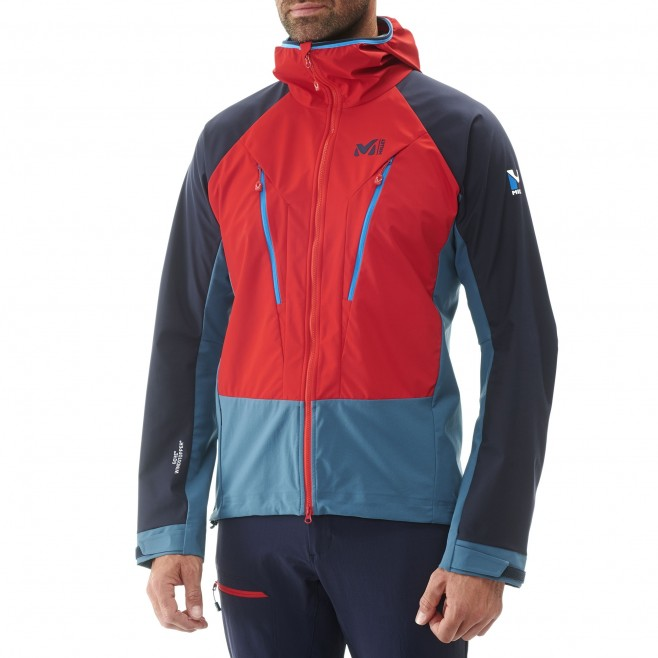 Mountaineering - Men's jacket - Navy-Blue TRILOGY V ICON WDS JKT Millet 6