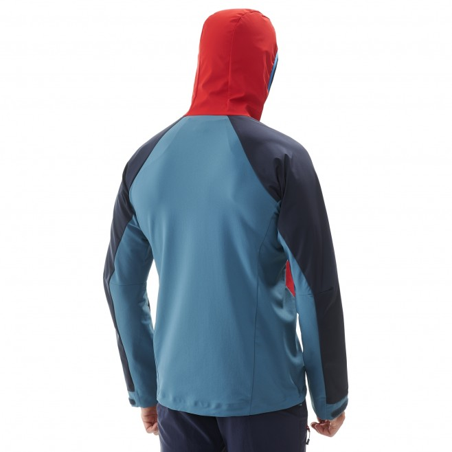 Men's wind resistant jacket - blue TRILOGY V ICON WDS JKT M Millet 3