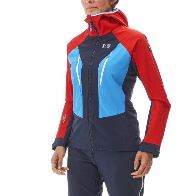 Mountaineering - Women's jacket - Navy-Blue LD TRILOGY V ICON WDS JKT Millet 2