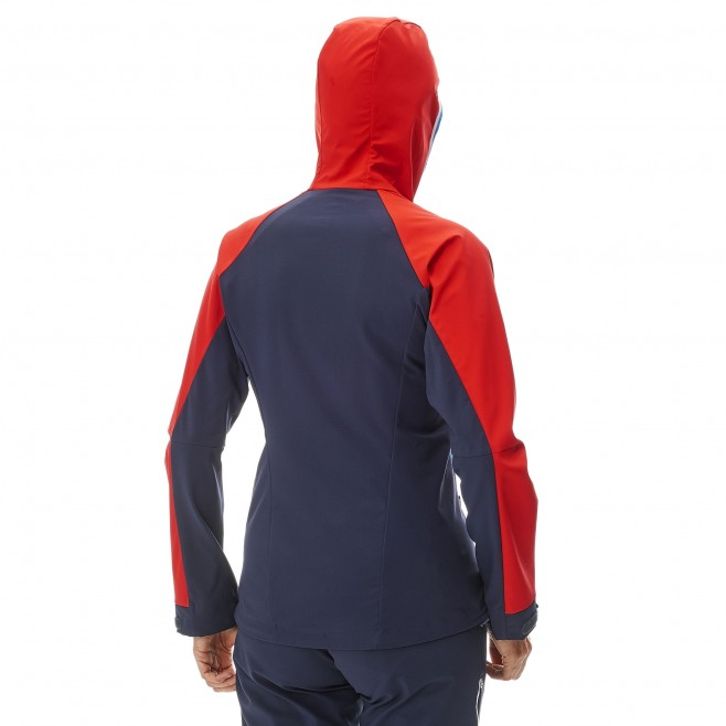 Mountaineering - Women's jacket - Navy-Blue LD TRILOGY V ICON WDS JKT Millet 3