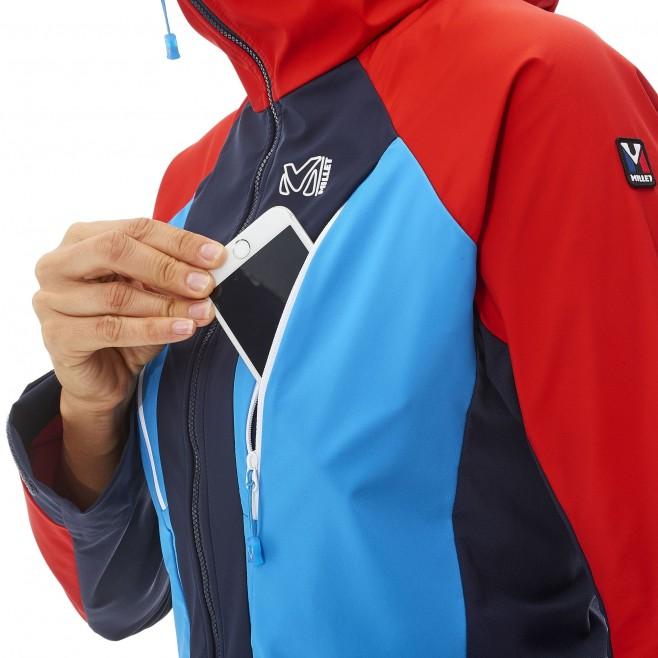 Mountaineering - Women's jacket - Navy-Blue LD TRILOGY V ICON WDS JKT Millet 5