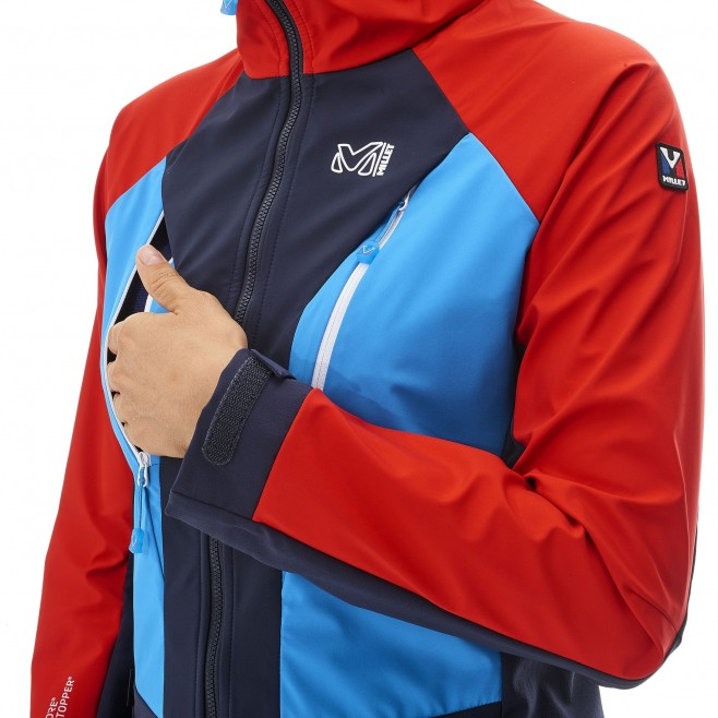 Mountaineering - Women's jacket - Navy-Blue LD TRILOGY V ICON WDS JKT Millet 8
