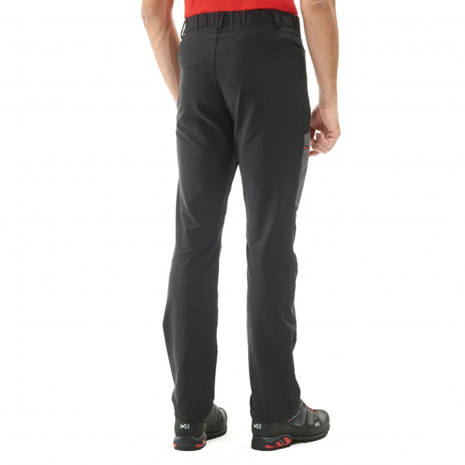 Men's wind resistant pant - mountaineering - black LEPINEY XCS CORDURA PANT Millet 3