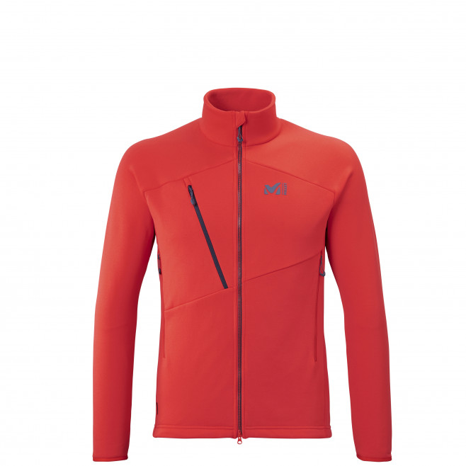 Men's very warm jacket - red ELEVATION POWER JKT M Millet