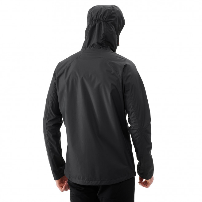 Men's waterproof jacket - black FITZ ROY 2.5L II JKT Millet 3