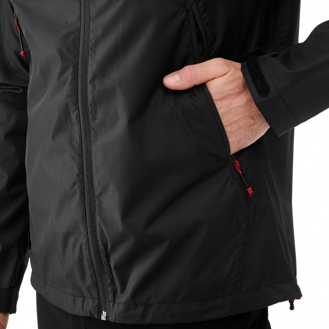 Men's waterproof jacket - black FITZ ROY 2.5L II JKT Millet 5