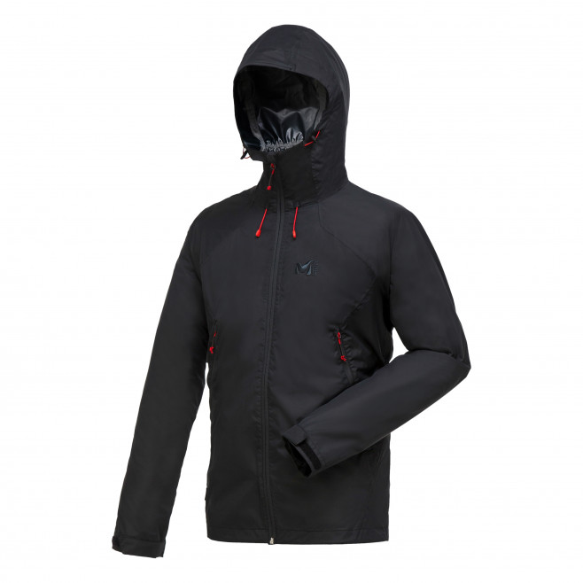 Men's waterproof jacket - black FITZ ROY 2.5L II JKT Millet