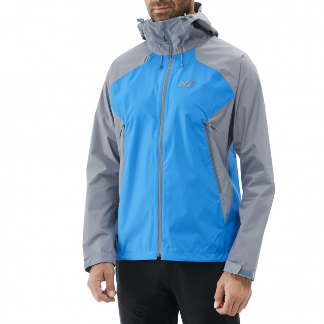 Men's waterproof jacket - blue FITZ ROY 2.5L II JKT Millet 2