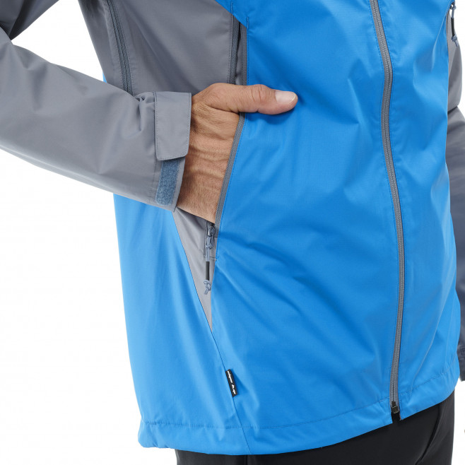 Men's waterproof jacket - blue FITZ ROY 2.5L II JKT Millet 5