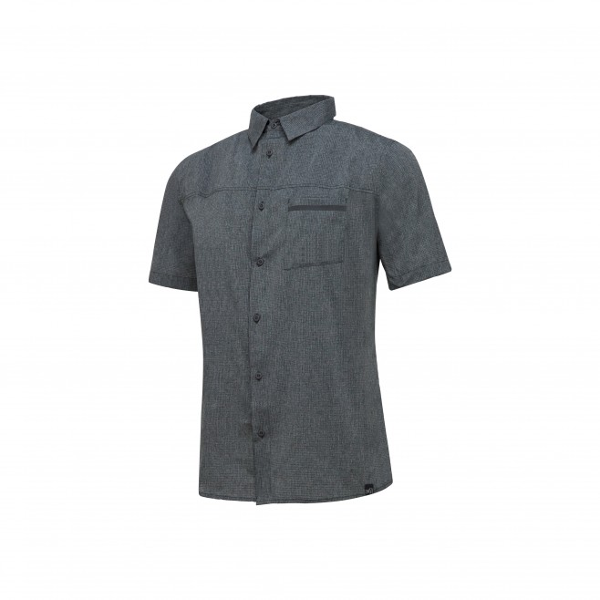 Trekking - Men's shirt - Grey ARPI SHIRT SS Millet