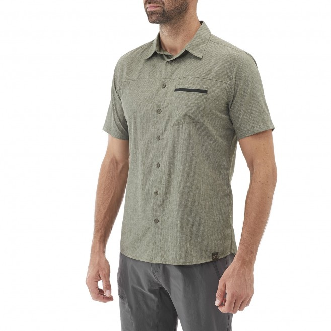 Men's shirt - grey ARPI SHIRT SS M Millet 2
